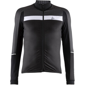 Craft Route Longsleeve Jersey Heren, black/white